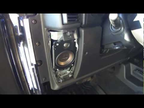 DIY How To Install Speakers In A Jeep
