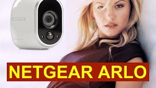 Netgear Arlo - Wireless Security Camera System - Review & Install Video