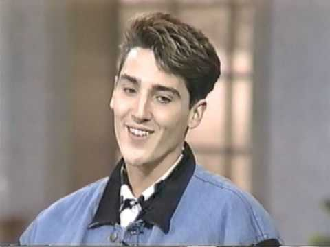 Jonathan Knight on Talk Show 1991