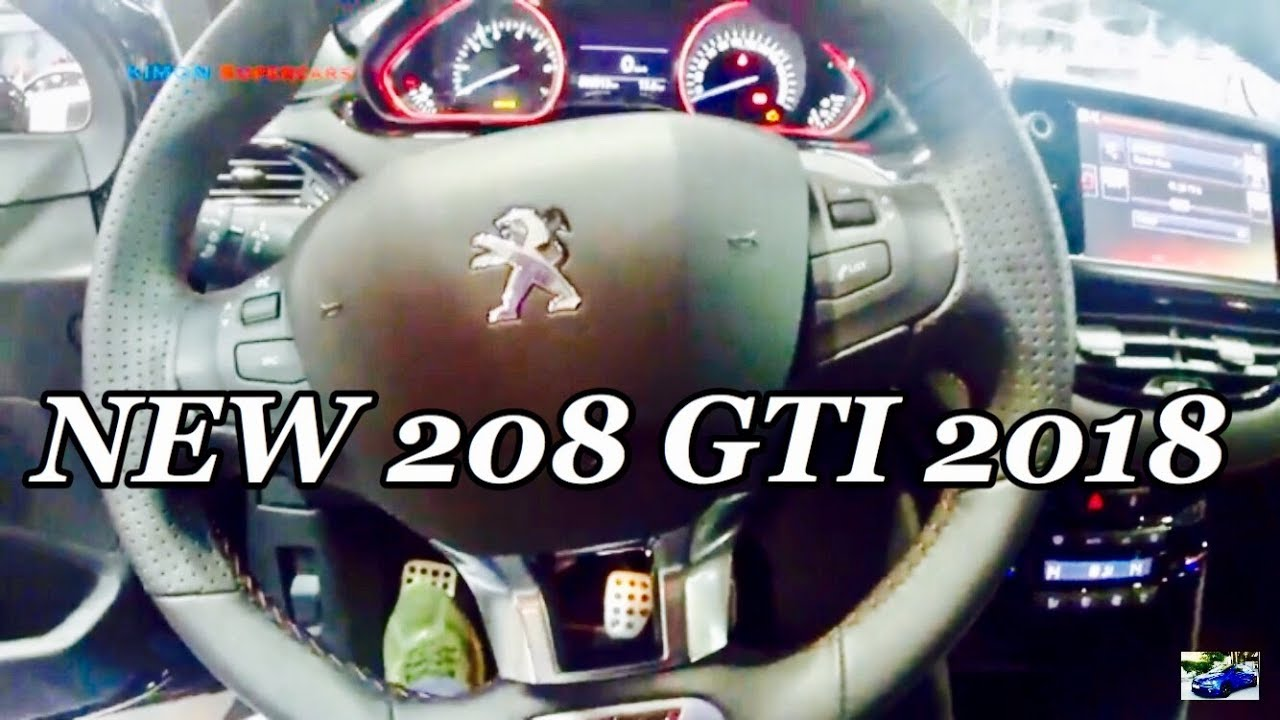 2018 peugeot 208 gti. modren peugeot new 2018 peugeot 208 gti  exterior and interior inside peugeot gti