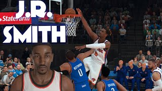 How to make J.R. Smith in NBA 2K19