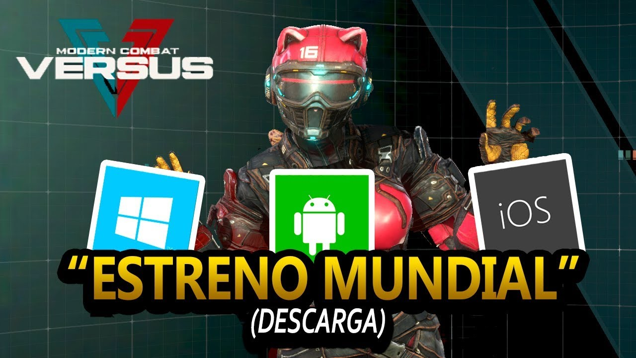 Download MODERN COMBAT VERSUS ESTRENO MUNDIAL + EVENTO EPICO!!