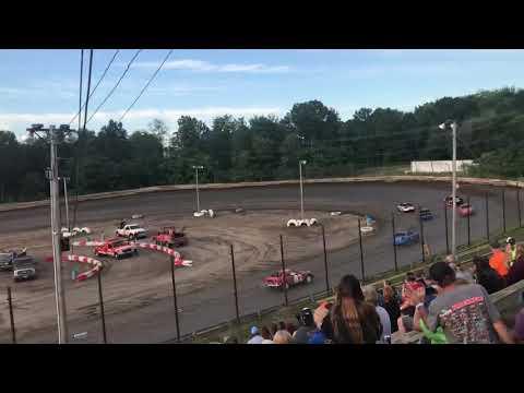 Hilltop Speedway - Ministock Heat 1 - 6/21/19