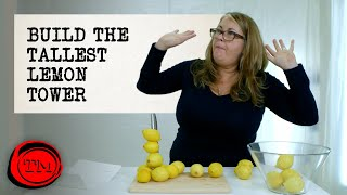 Build the Tallest Tower Made of Lemons | Full Task | Taskmaster