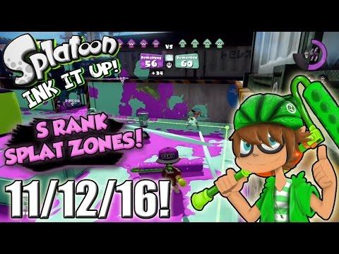 Splatoon - Ink It Up! 11/12/16! Stop, Drop, and Ink!