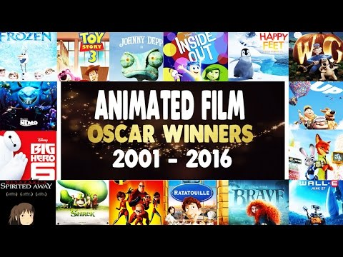 Best Animated Feature Film Oscar Winners Recap - 2001-2016