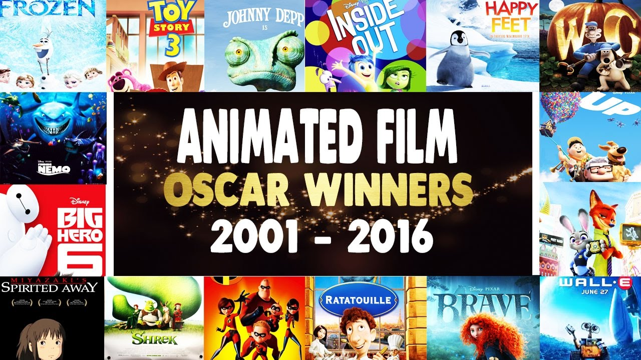Best Animated Feature Film Oscar Winners Recap - 2001-2016 ...