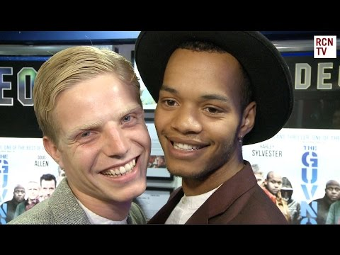 Rizzle Kicks Harley Sylvester  The Guvnors Premiere