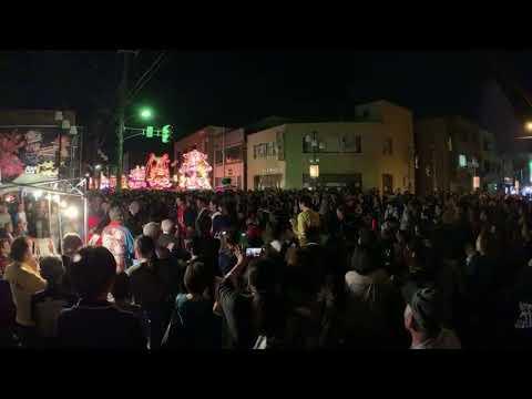 砺波夜高コンクール2019ライブ Tonami Yotaka lantern Festival
