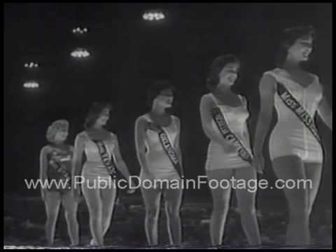 Miss Mississippi Mary Ann Mobley wins Miss America pageant 1959 archival footage