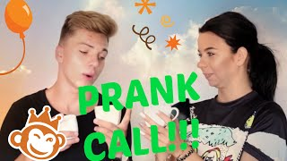 Prank call video challenge - The Lazy Wave + GIVEAWAY!!!