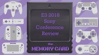 E3 2018 Sony conference review
