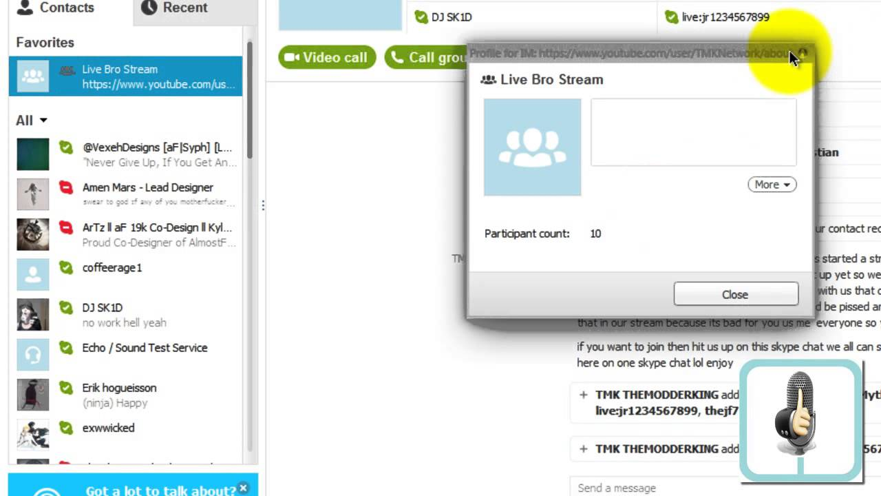 How To Create A Chat Room In Skype