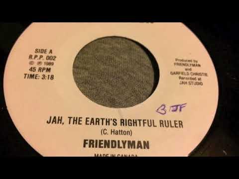 Friendlyman - Jah , The Earth's Rightful Ruler - Revelation mp3