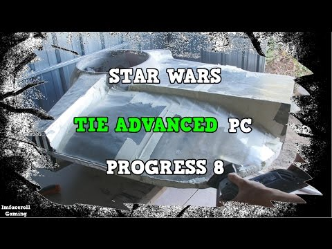 Star Wars TIE Fighter Advanced Watercooled PC Build Progress 8 - PC MOD BUILT INTO A TIE FIGHTER