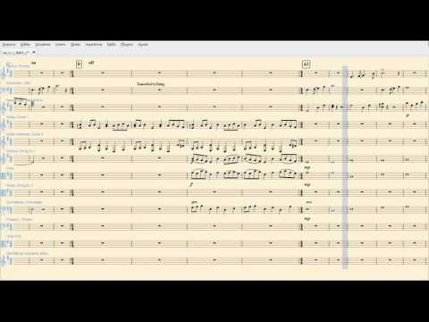Europa Universalis IV OST Transcription - I Didn't Choose This Life, It Chose Me (Musescore)