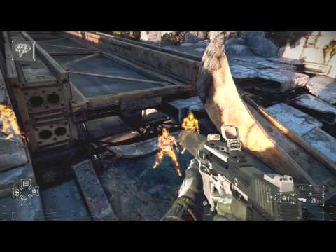 Killzone Shadow Fall Outgunned Trophy PS4