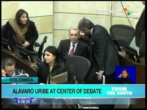 Colombia Senate debate begins on paramilitary ties