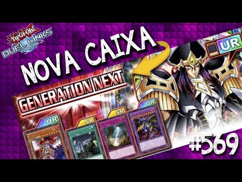 Nova Caixa Generation Next! Mostro e comento todas as cartas UR da nova caixa!