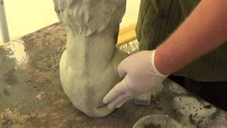 Make Your Own Concrete Statues - How To Fix Air Bubbles And Seams