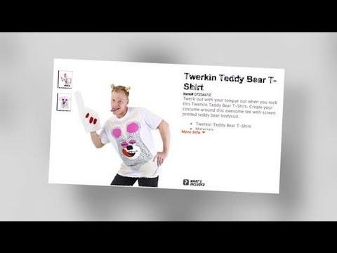 Get Miley Cyrus' Twerk Outfit For Halloween - Splash News | Splash News TV | Splash News TV