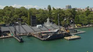 La Traviata on Sydney Harbour | First look at the spectacular floating stage