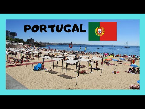 The beautiful resort town of CASCAIS & the beautiful BEACHES (PORTUGAL)