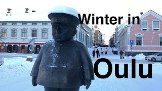 Oulu - Feel the winter chill of Northern Finland!