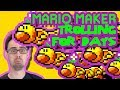Mario Maker - Hot CARPage and Squirmathon (When Trolling Becomes Art)