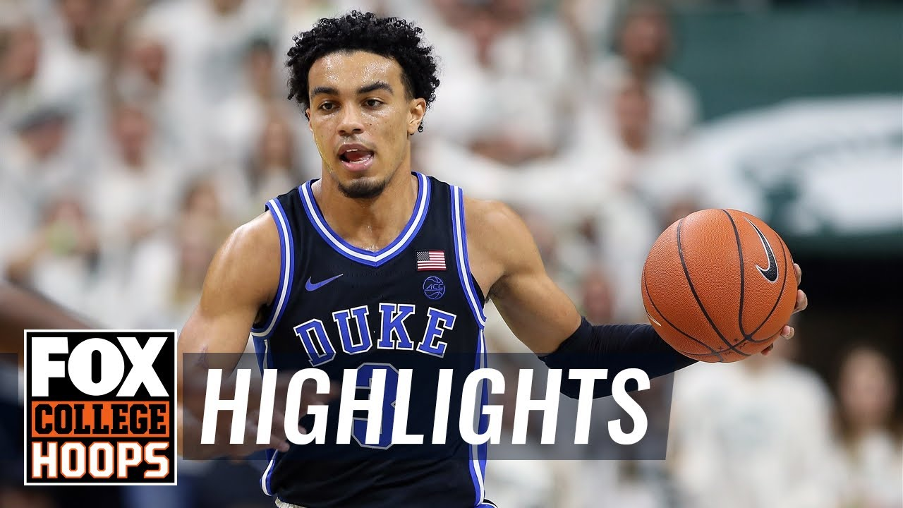 Duke rebounds from upset loss with dominant win over Michigan State  HIGHLIGHTS