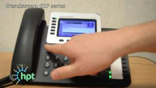How to record personal voicemail on a hosted GXP series Grandstream phone