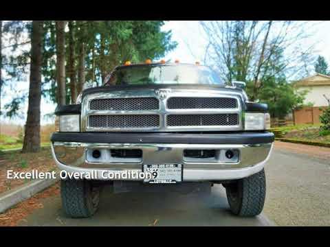 1995 Dodge Ram 2500 Laramie SLT 4X4 V10 1 Owner Long Bed 3500 F250 for sale in Milwaukie, OR