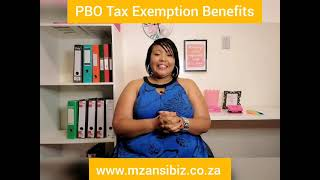 PBO Tax Exemption Benefit