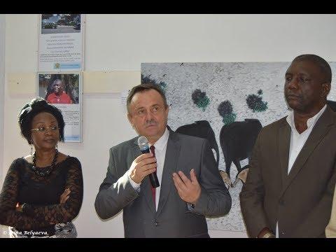Exposition de trois grands artistes-peintres congolais / Выставка трех крупных художников в РЦНК