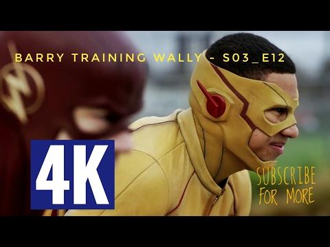 barry-and-wally-race-scene,-barry-training-wally---the-flash-s03e12-hd