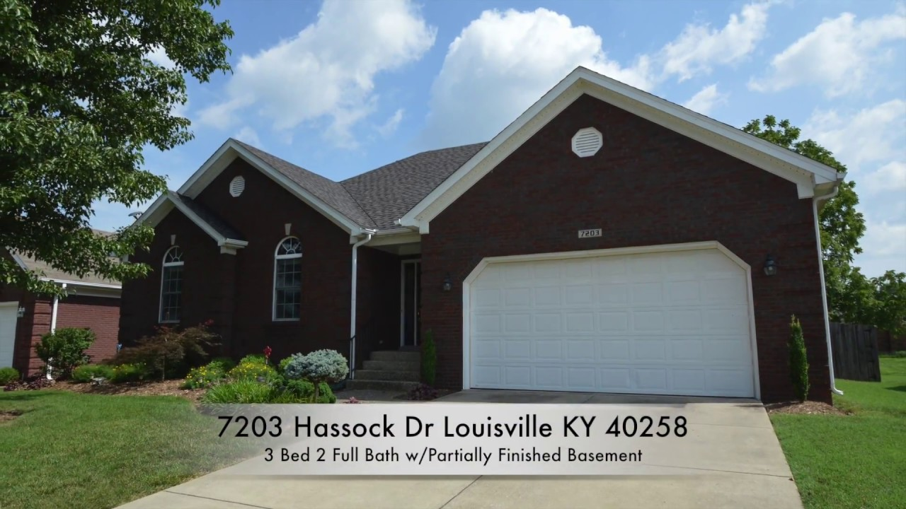 7203 Hassock Dr Louisville KY 40258 Home For Sale