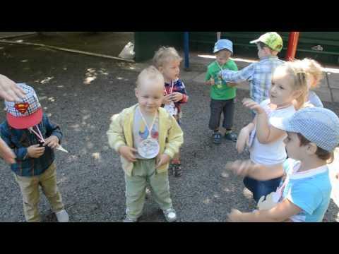 Подвижные игры в детском саду с детьми ясельной группы Подвижная игра Волк и зайчики