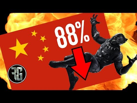 BLACK PANTHER's Massive 88% Box Office Plunge In China