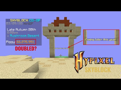 How I made $35 million coins in a matter of minutes | HYPIXEL SKYBLOCK UPDATE