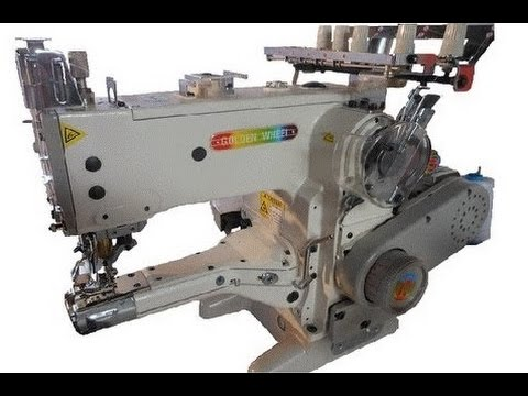Máquina de Coser Collareta CSA-4500 - YouTube