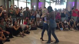 KIFE 2015 - The battle of Urban Kiz - Enah e Carolina vs Moun e Marta