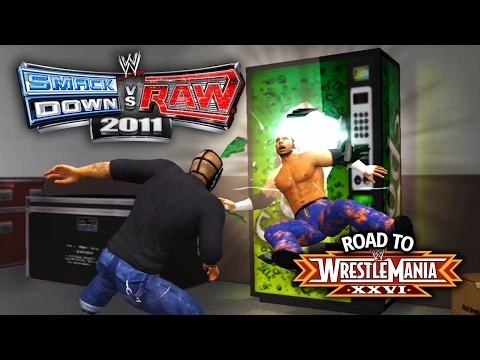 "WWE Smackdown vs Raw 2011 - ""HE NEEDS SOME MILK!!"" (Road To WrestleMania Ep 2)"