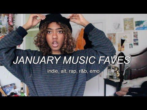 dancing in my room to de-stress // January Music Playlist (indie, alternative, rap)