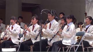 浜松まつり 浜工プロムナードコンサート 浜松工業高校 吹奏楽部 ジャパ...
