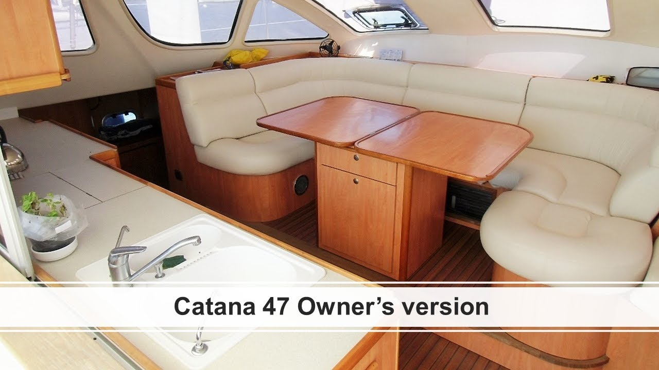 For Sale - Catana 47 owner's version - 2006