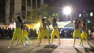 Music Fountain at 堺町公園 -Dance Show-