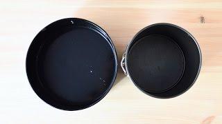 Перерасчет рецепта на форму другого диаметра