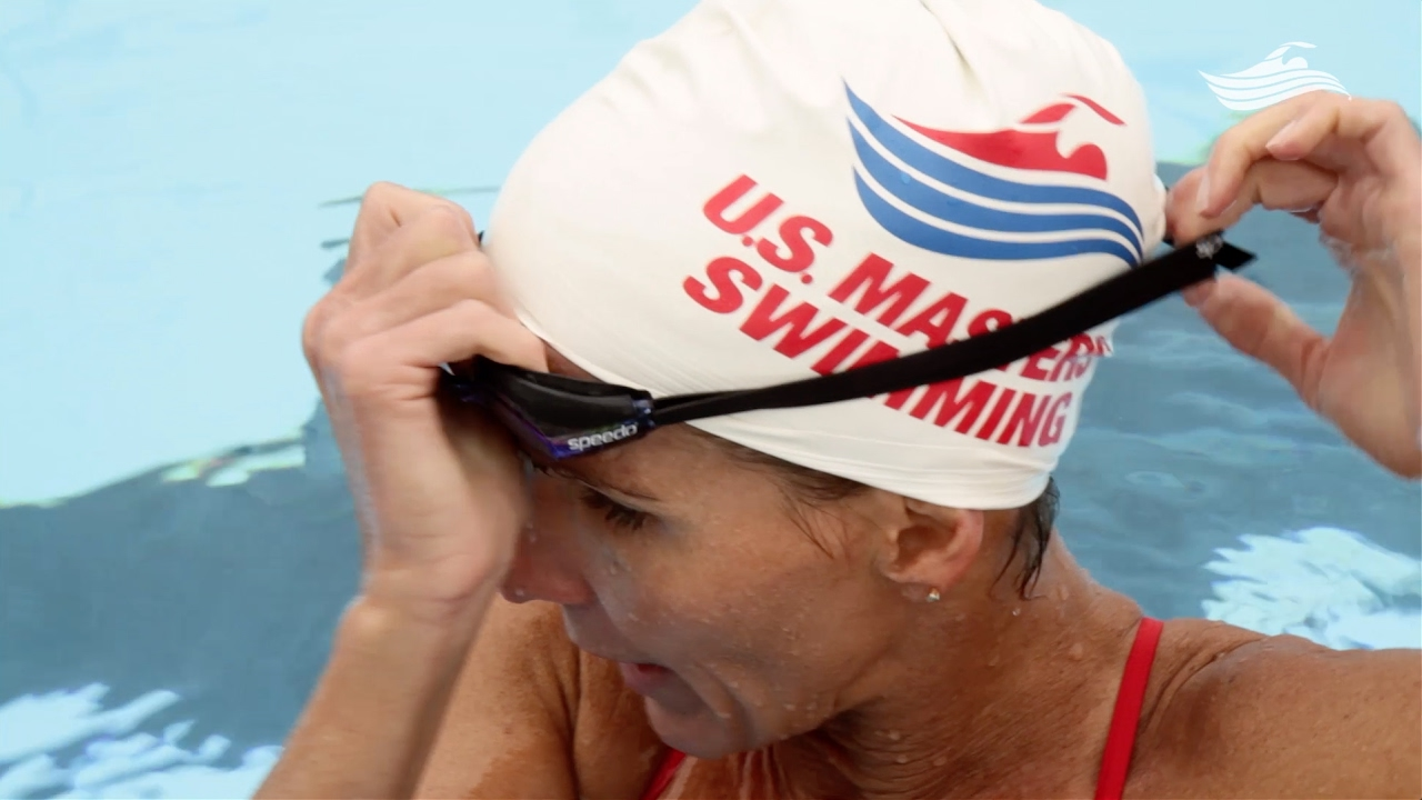 67a81efbcda Swimming 101  How to Put on Goggles - YouTube