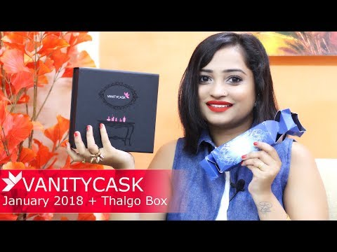 India's Premium Beauty Subscription Box - VANITY CASK WITH Thalgo Discovery Cracker Pack