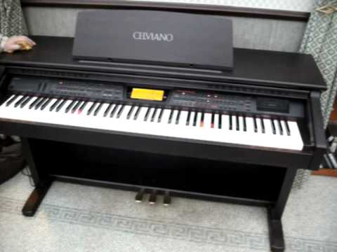 casio celviano al 100r electric digital piano keyboard selling on ebay youtube. Black Bedroom Furniture Sets. Home Design Ideas